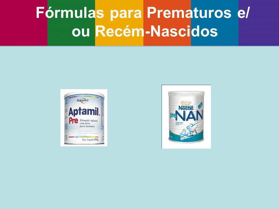 Fórmulas para Prematuros e/