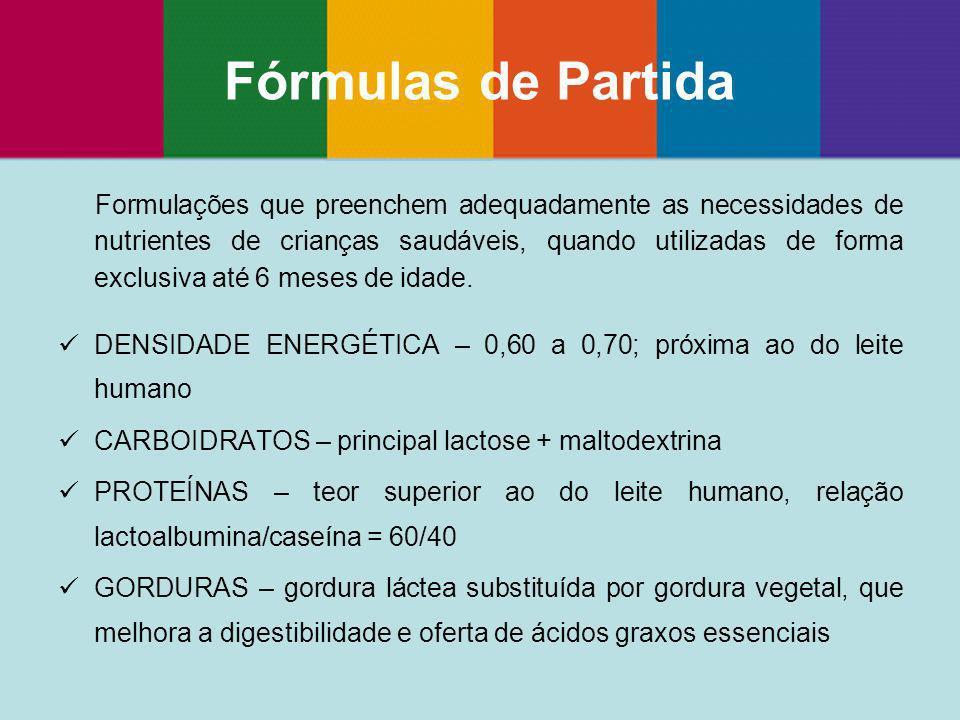 Fórmulas de Partida