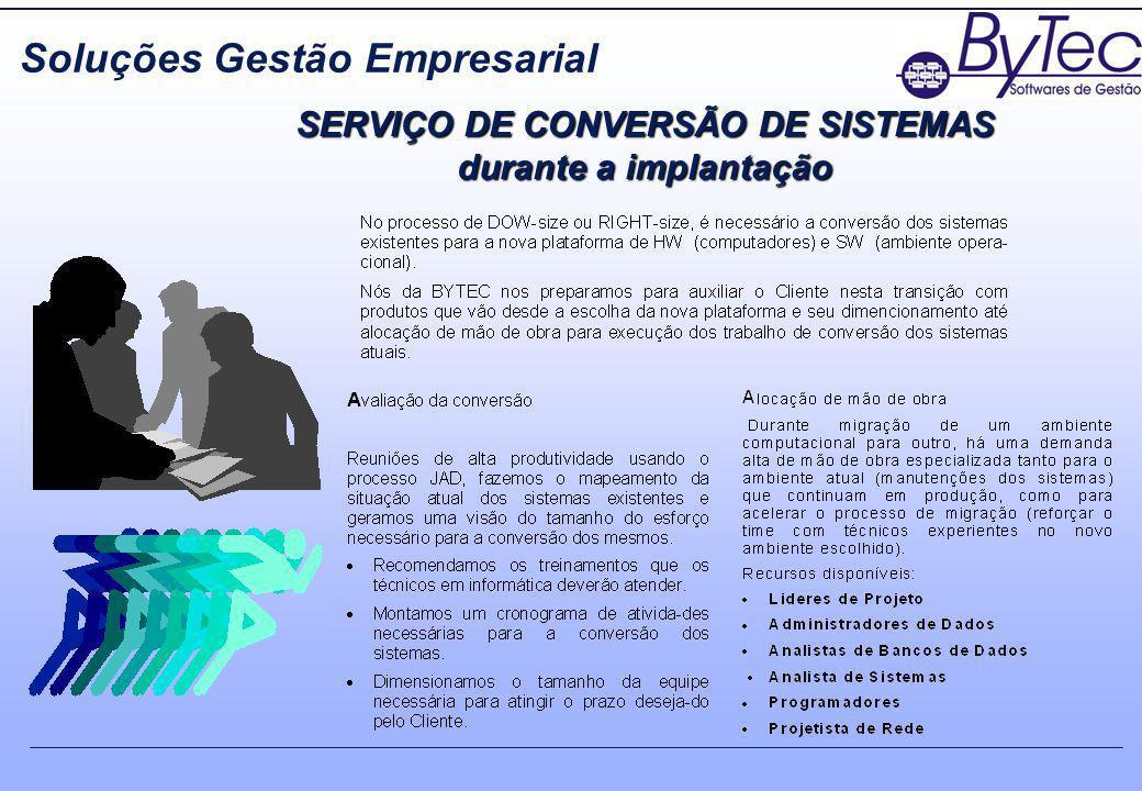 SERVIÇO DE CONVERSÃO DE SISTEMAS