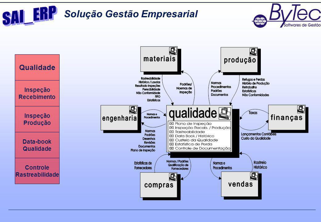SAI_ERP Solução Gestão Empresarial Qualidade Inspeção Recebimento