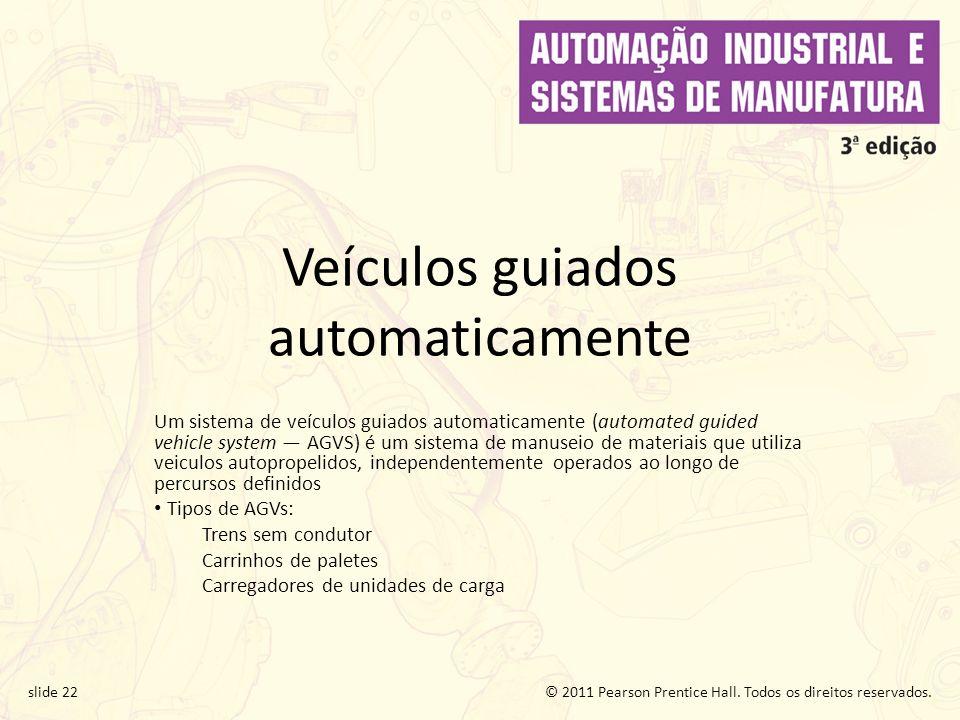 Veículos guiados automaticamente