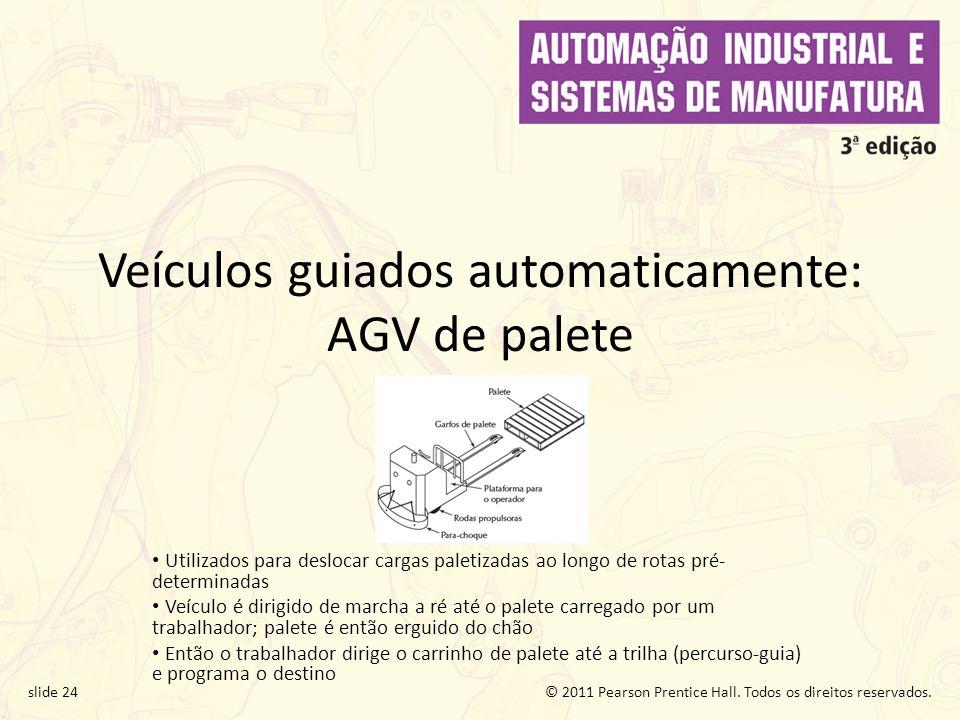 Veículos guiados automaticamente: AGV de palete