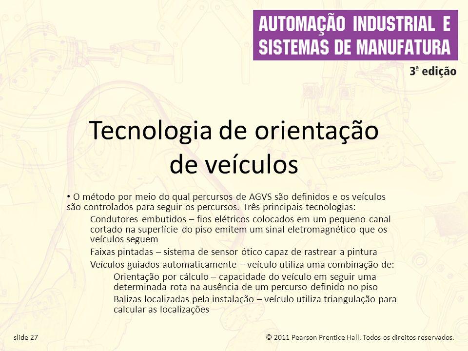 Tecnologia de orientação de veículos