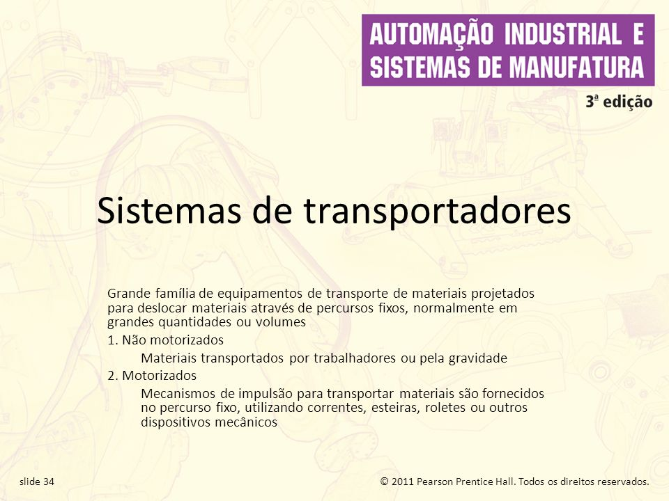 Sistemas de transportadores