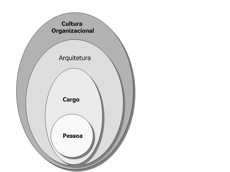 Cultura Organizacional Arquitetura Cargo Pessoa
