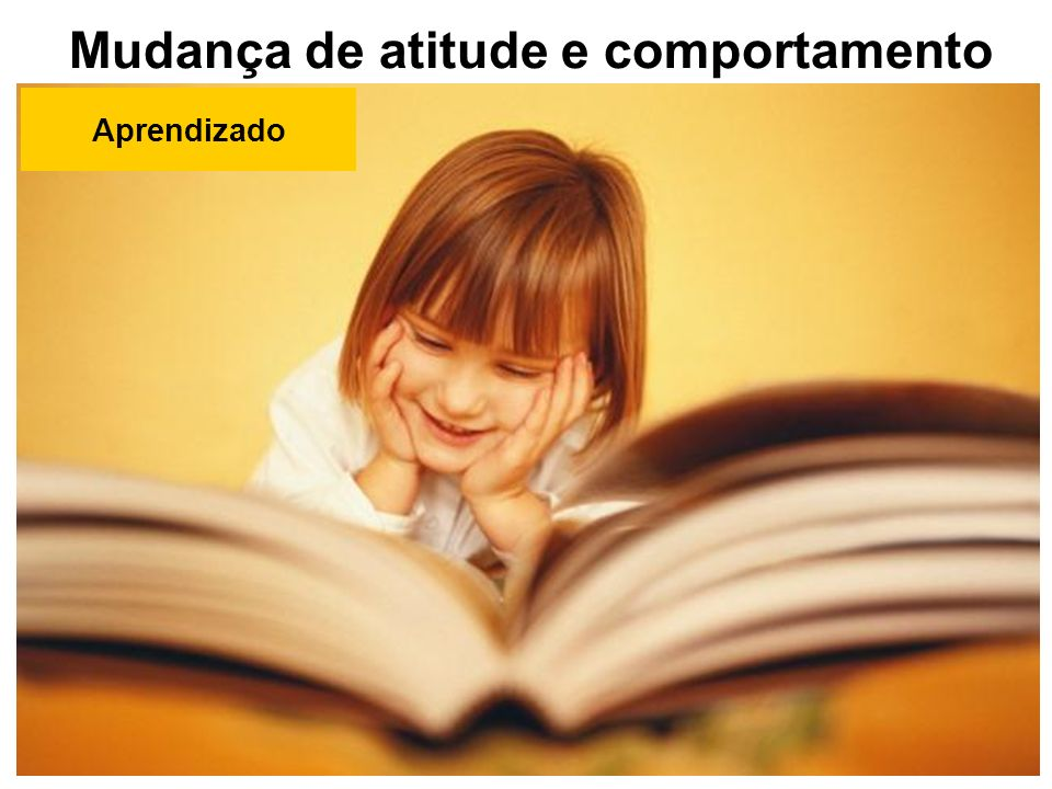 Mudança de atitude e comportamento