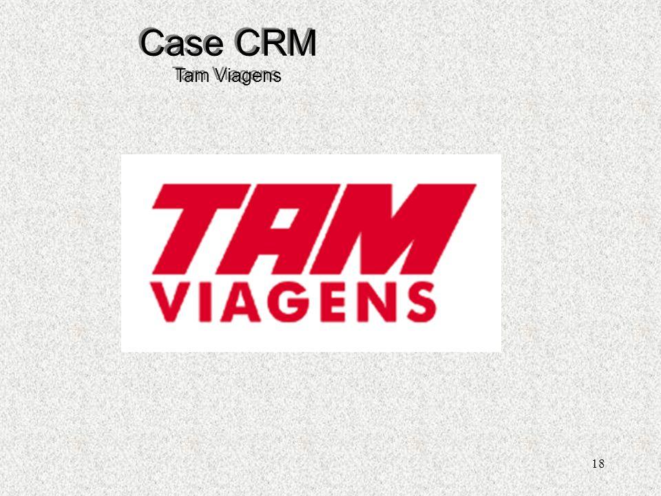 Case CRM Tam Viagens Henrique C. S. Sandim
