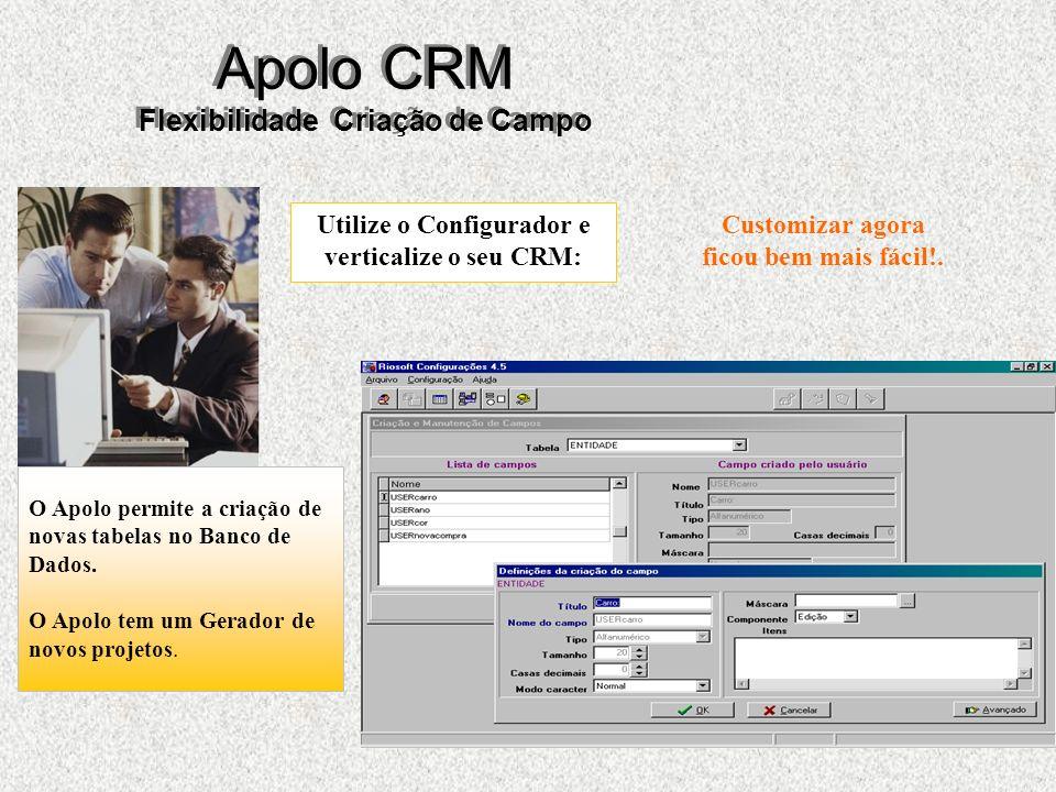 Utilize o Configurador e verticalize o seu CRM: