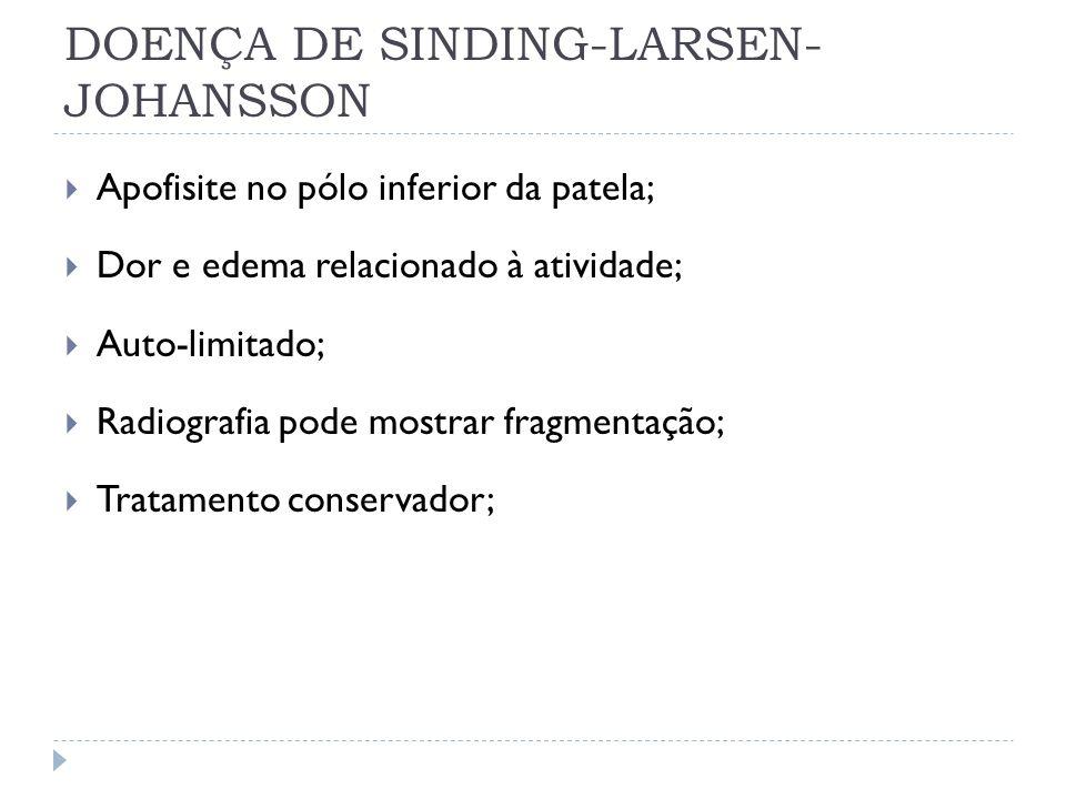 DOENÇA DE SINDING-LARSEN-JOHANSSON