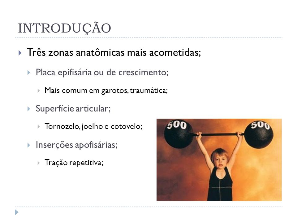 INTRODUÇÃO Três zonas anatômicas mais acometidas;