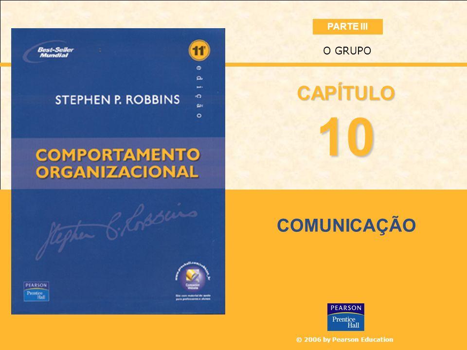 PARTE III O GRUPO CAPÍTULO 10 COMUNICAÇÃO