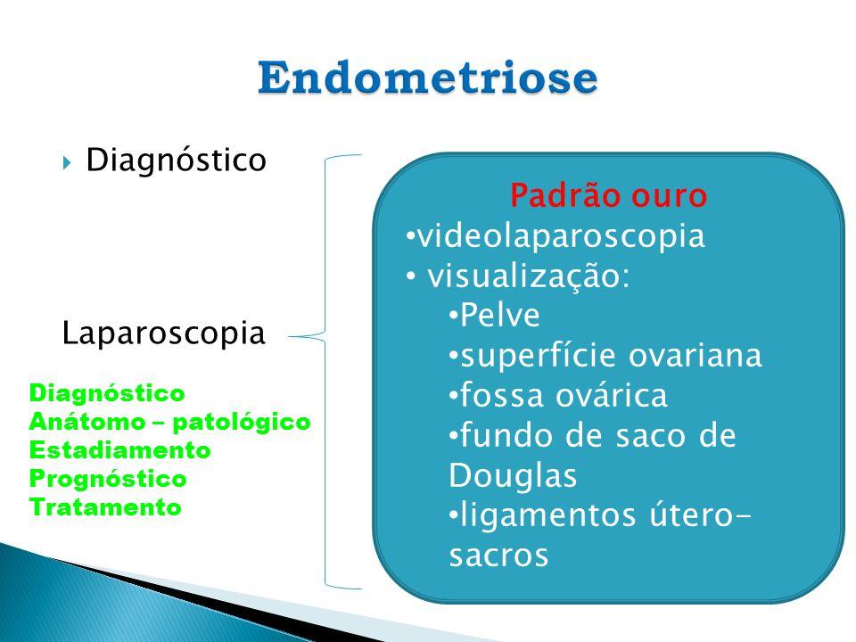 Endometriose Padrão ouro videolaparoscopia visualização: Pelve