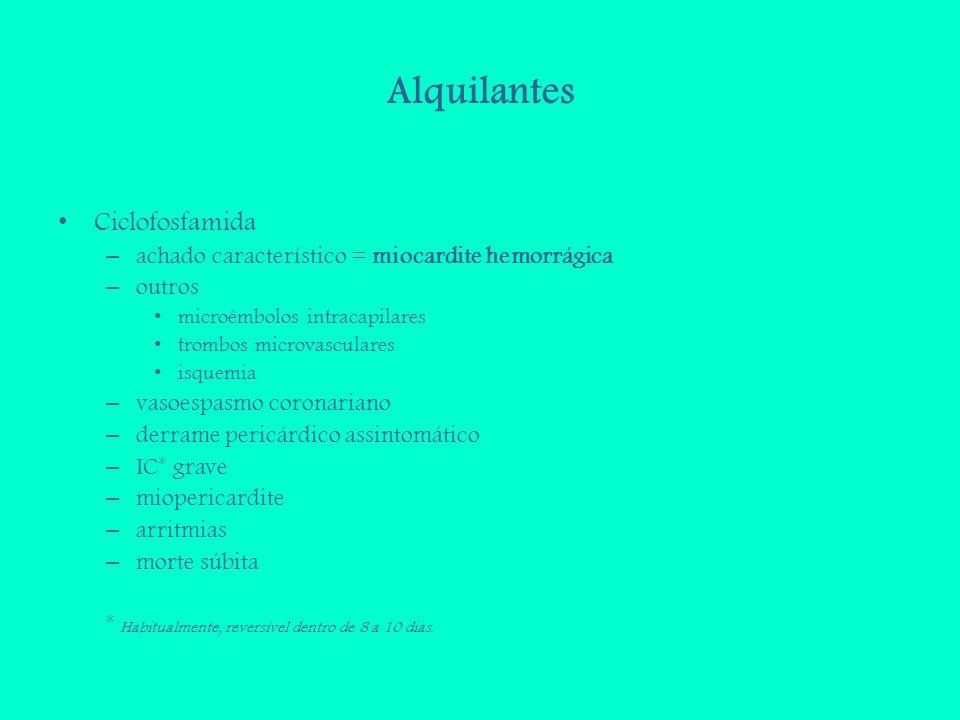 Alquilantes Ciclofosfamida