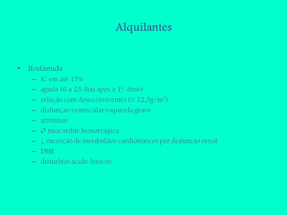 Alquilantes Ifosfamida IC em até 17%