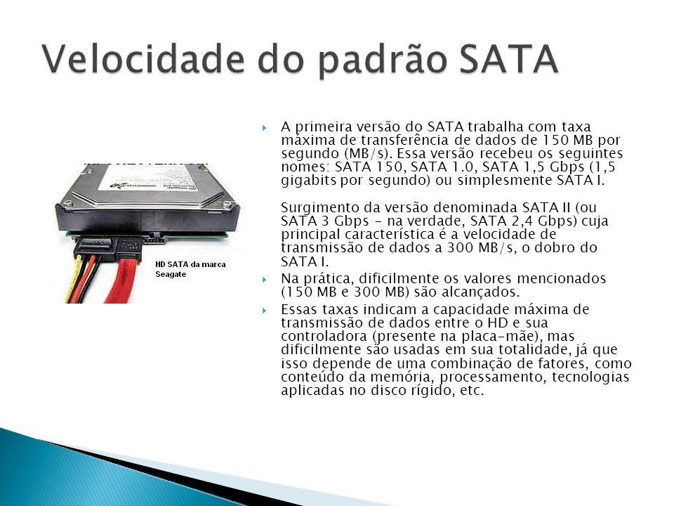 Velocidade do padrão SATA