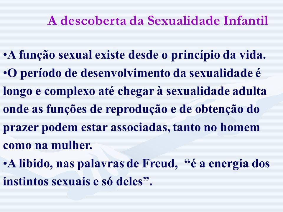 A descoberta da Sexualidade Infantil
