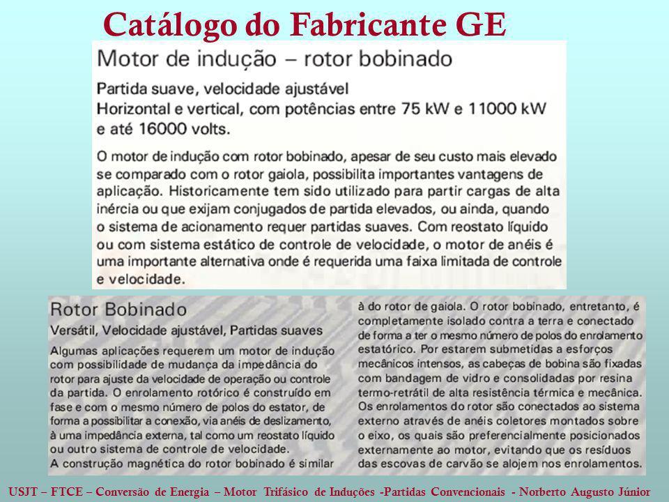 Catálogo do Fabricante GE