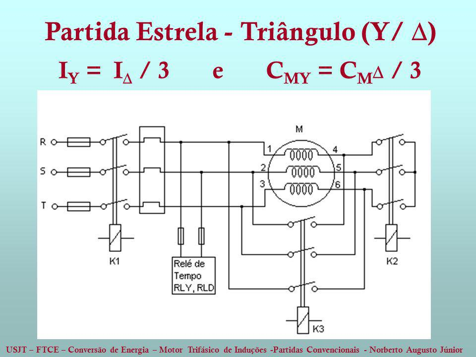 Partida Estrela - Triângulo (Y/ )