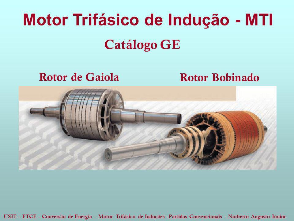Motor Trifásico de Indução - MTI