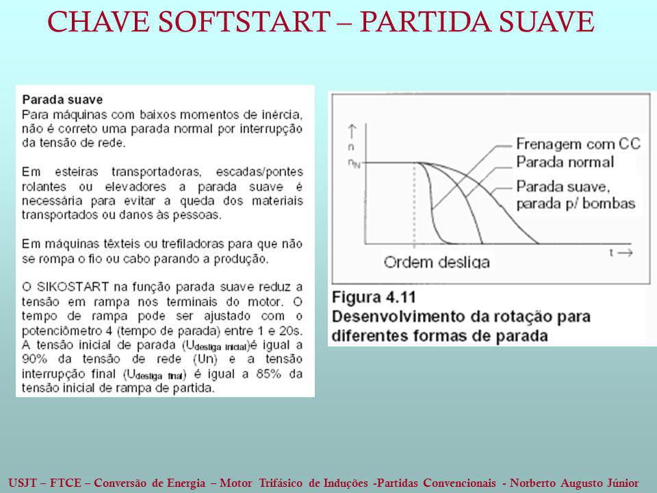 CHAVE SOFTSTART – PARTIDA SUAVE