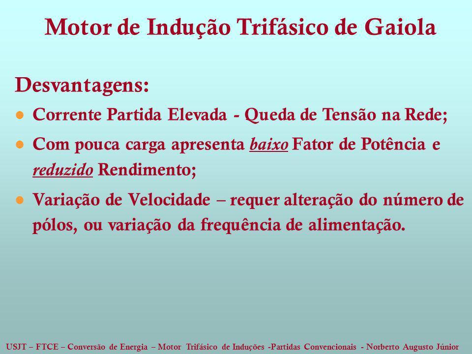Motor de Indução Trifásico de Gaiola