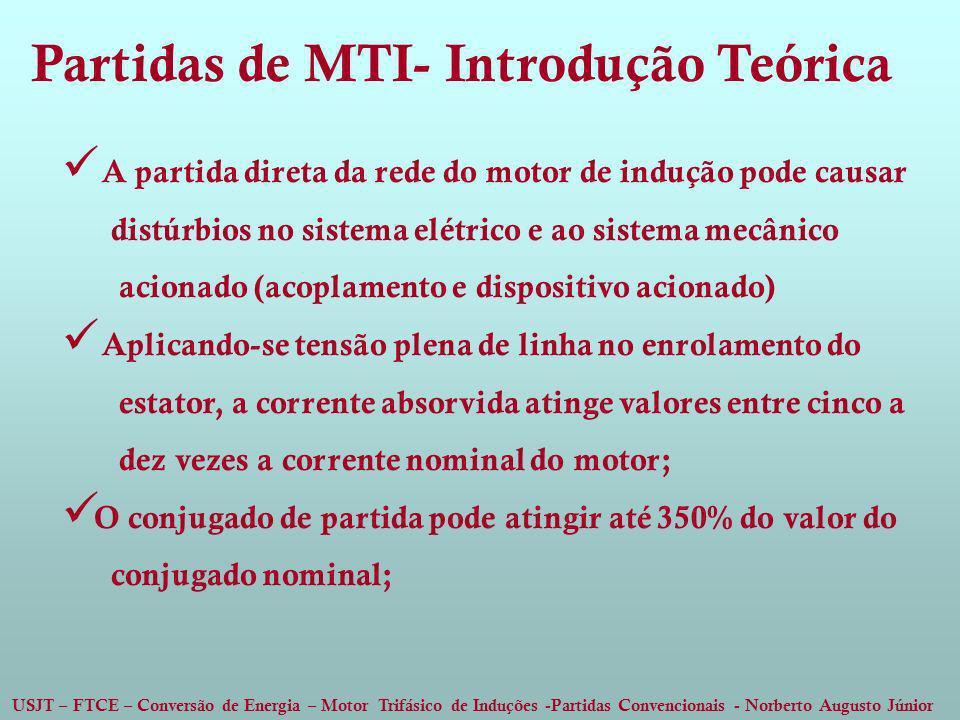 Partidas de MTI- Introdução Teórica