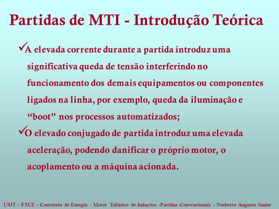 Partidas de MTI - Introdução Teórica