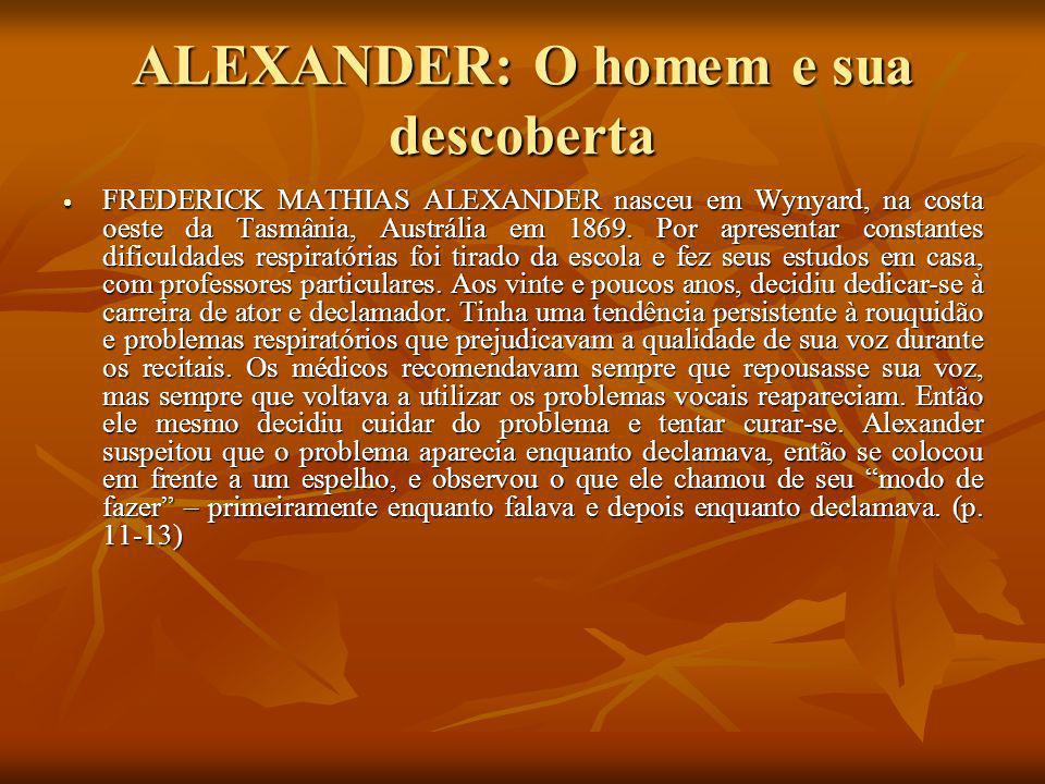 ALEXANDER: O homem e sua descoberta