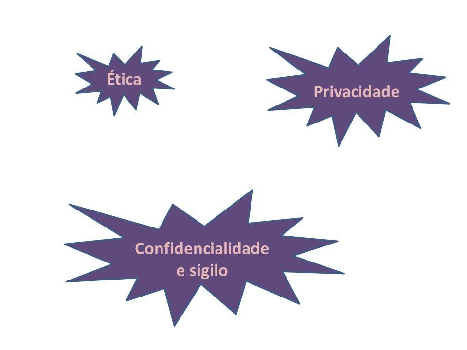 Confidencialidade e sigilo