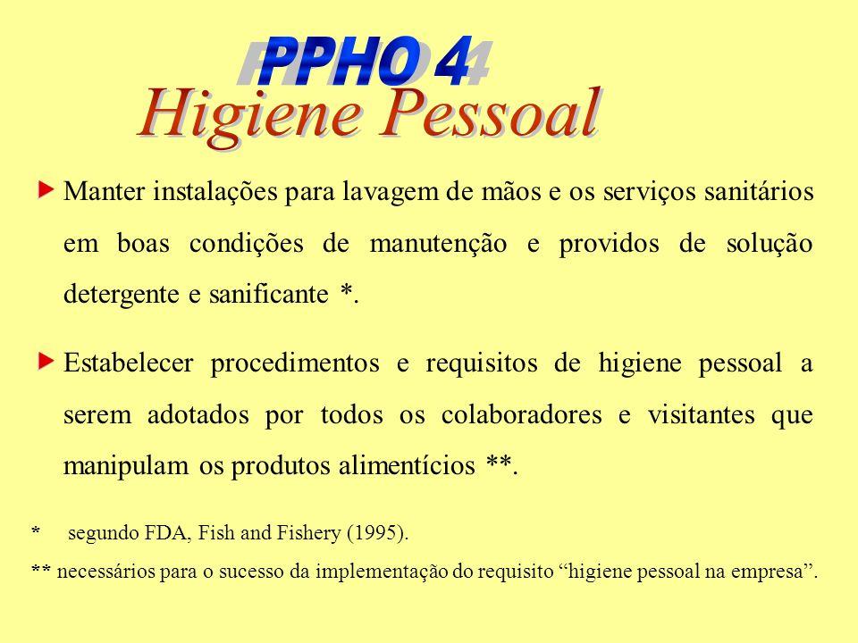 PPHO 4 PPHO 4 Higiene Pessoal