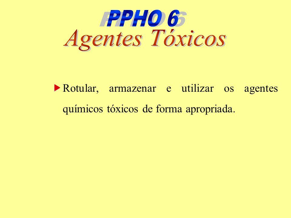 PPHO 6 PPHO 6 Agentes Tóxicos