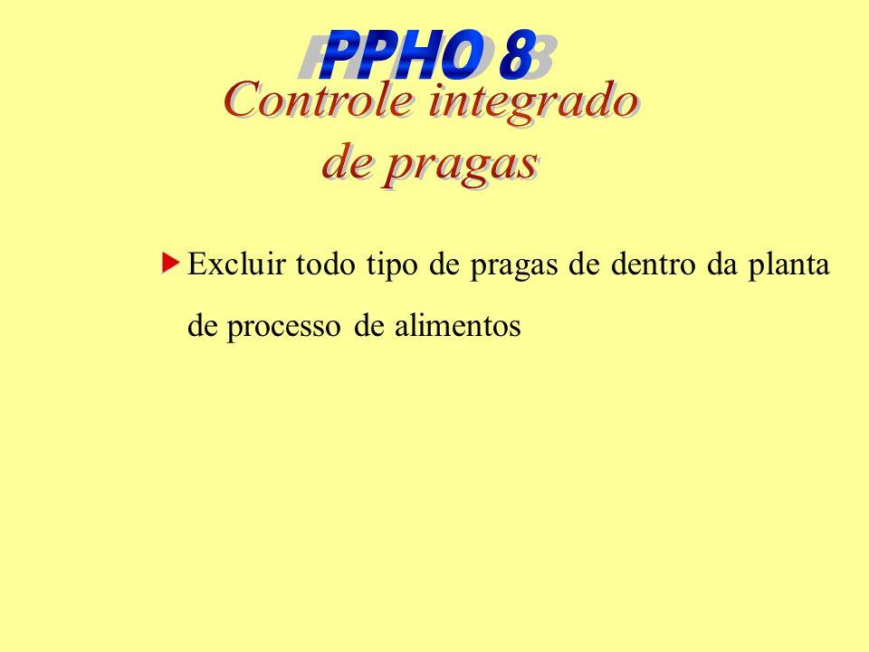 PPHO 8 PPHO 8 Controle integrado de pragas
