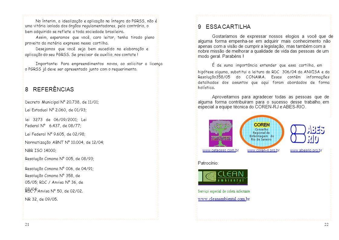 9 ESSA CARTILHA 8 REFERÊNCIAS