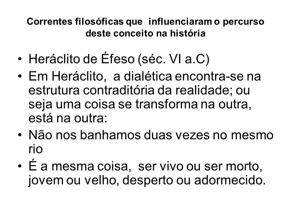 Heráclito de Éfeso (séc. VI a.C)