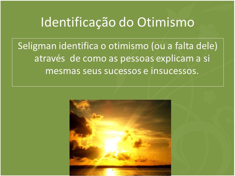 Identificação do Otimismo