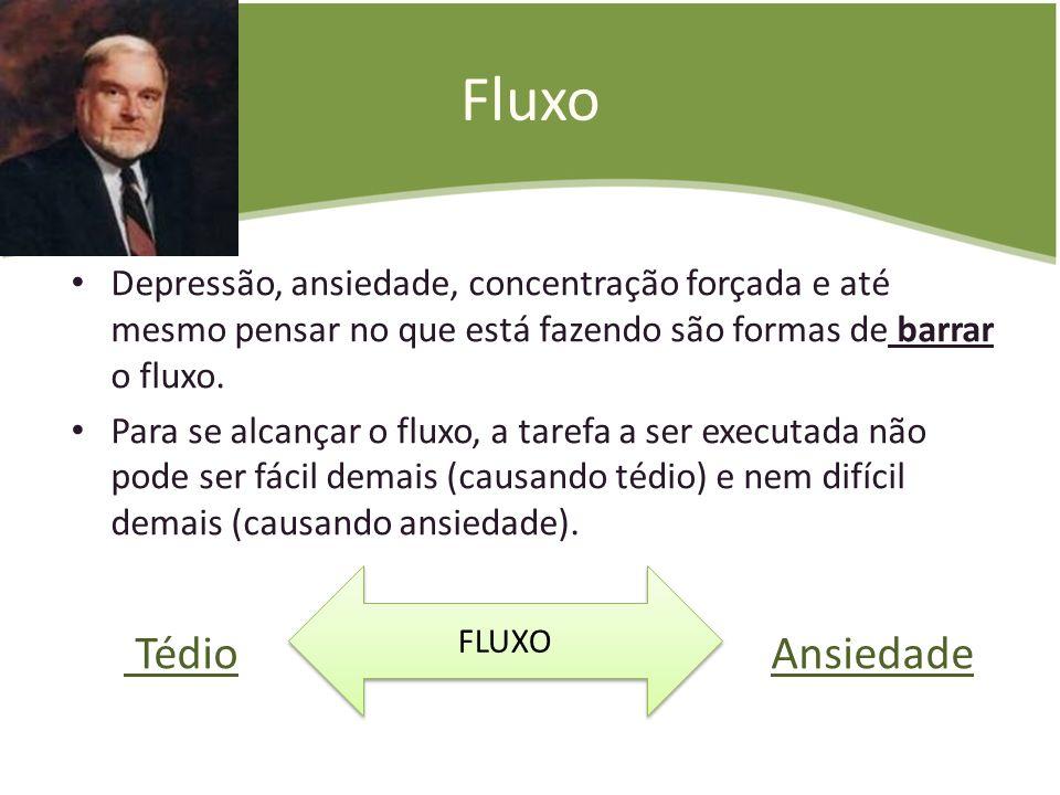 FluxoDepressão, ansiedade, concentração forçada e até mesmo pensar no que está fazendo são formas de barrar o fluxo.