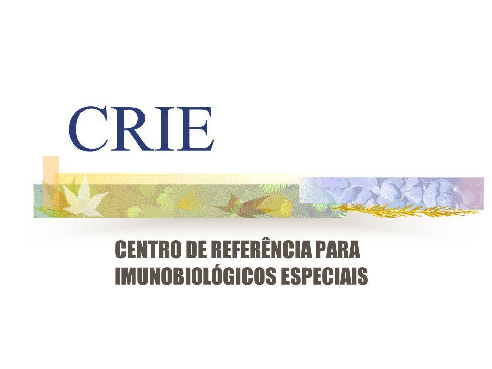 CENTRO DE REFERÊNCIA PARA IMUNOBIOLÓGICOS ESPECIAIS