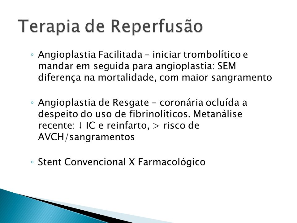 Terapia de Reperfusão