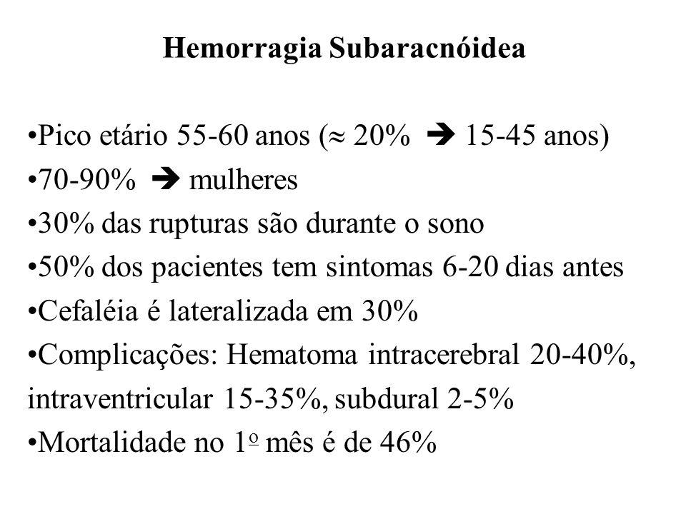 Hemorragia Subaracnóidea
