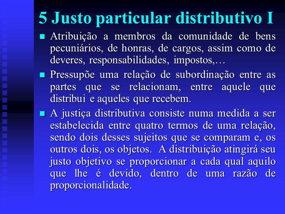 5 Justo particular distributivo I