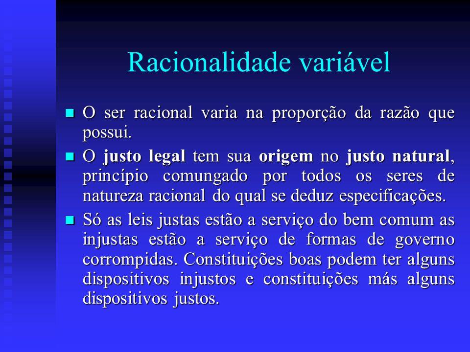 Racionalidade variável