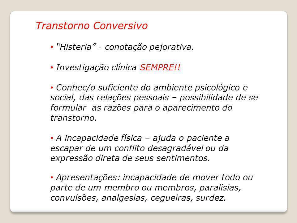 Transtorno Conversivo
