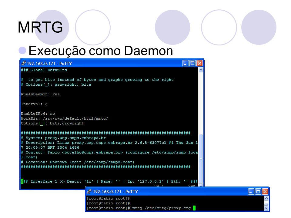 MRTG Execução como Daemon