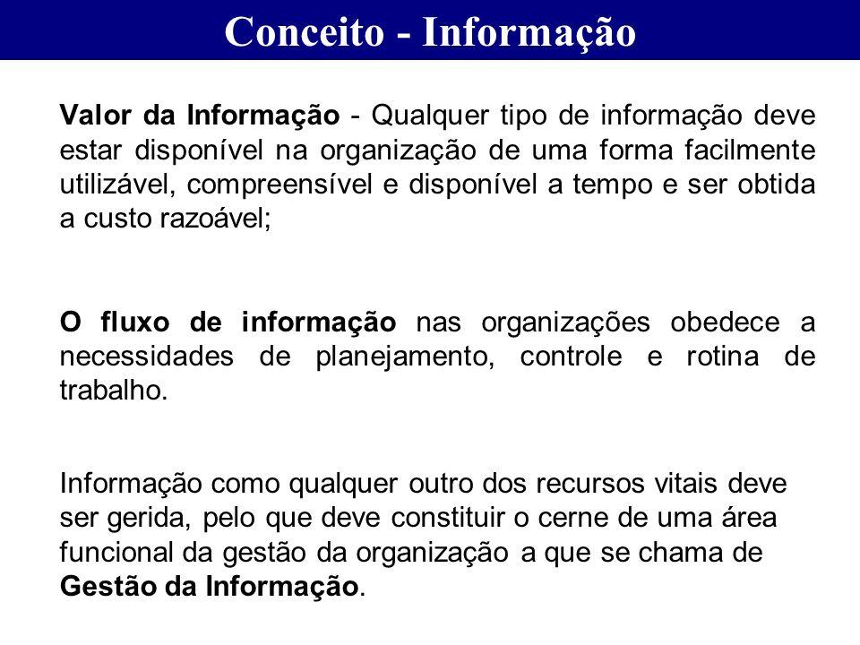 Conceito - Informação