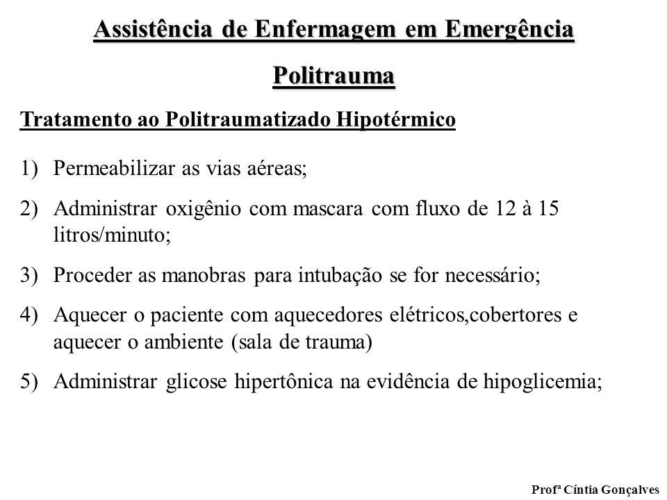 Tratamento ao Politraumatizado Hipotérmico