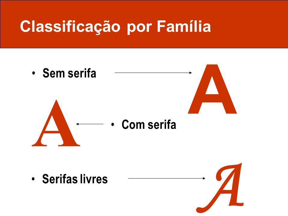 Classificação por Família