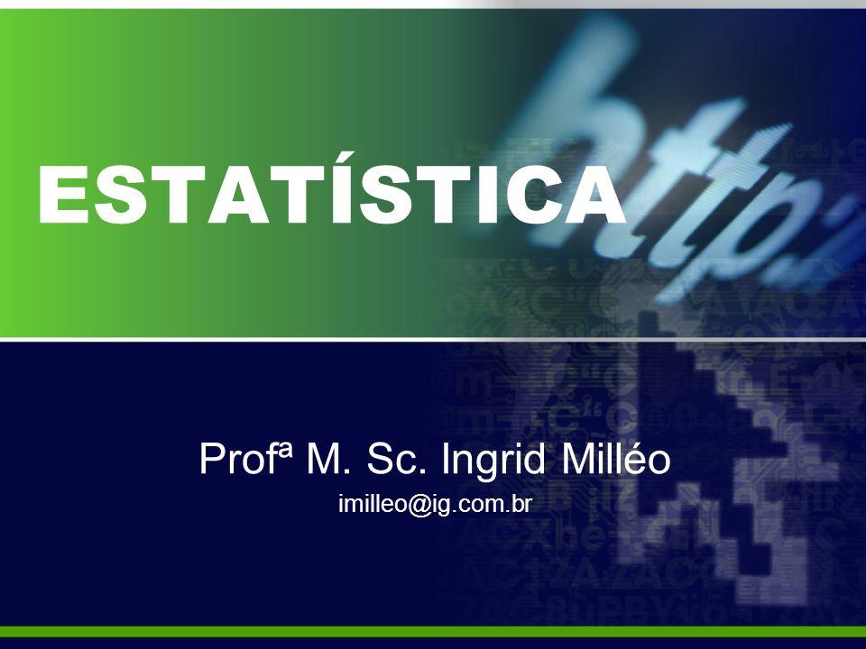 Profª M. Sc. Ingrid Milléo imilleo@ig.com.br