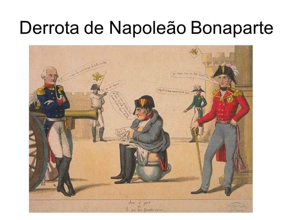 Derrota de Napoleão Bonaparte