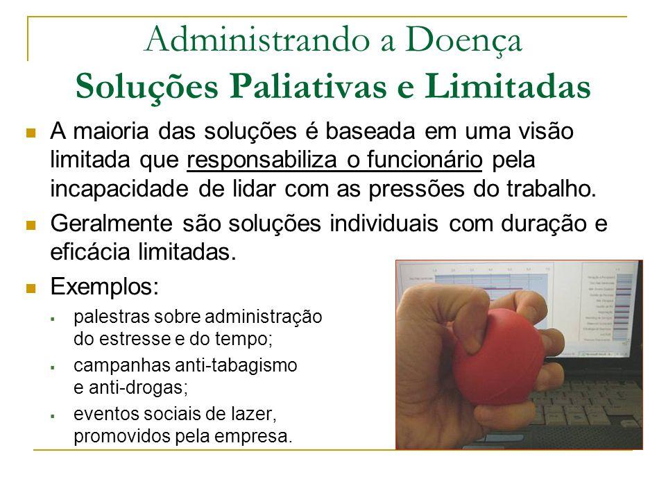 Administrando a Doença Soluções Paliativas e Limitadas