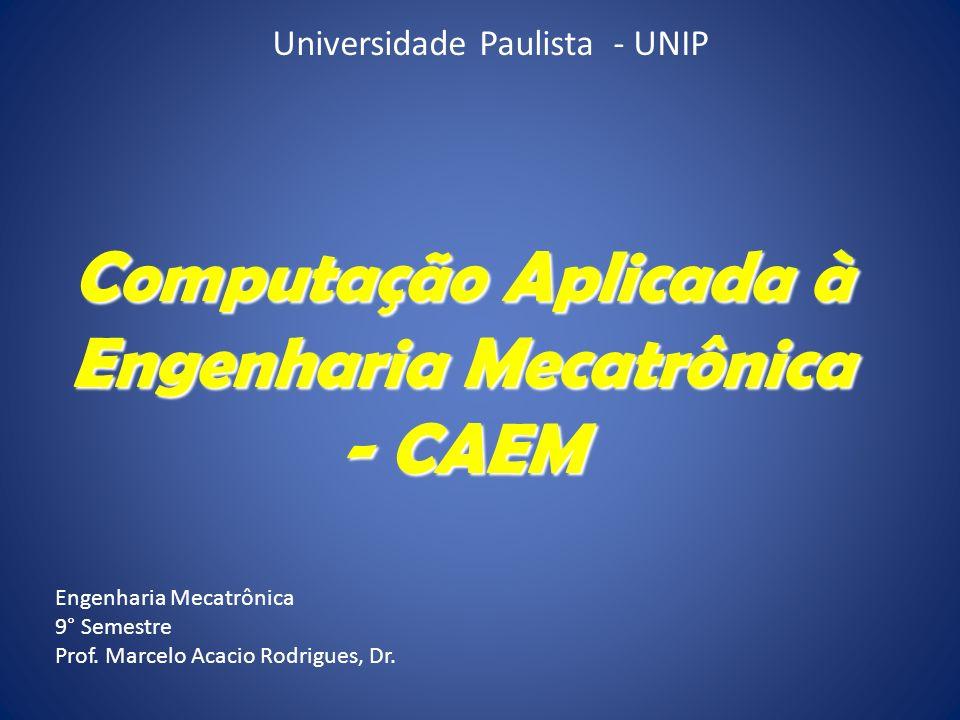 Engenharia Mecatrônica - CAEM